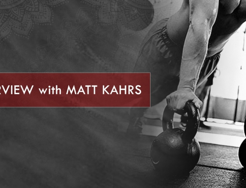 MATT KAHRS – Interview